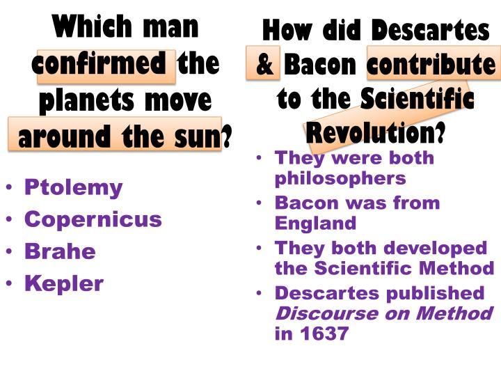 How did Descartes