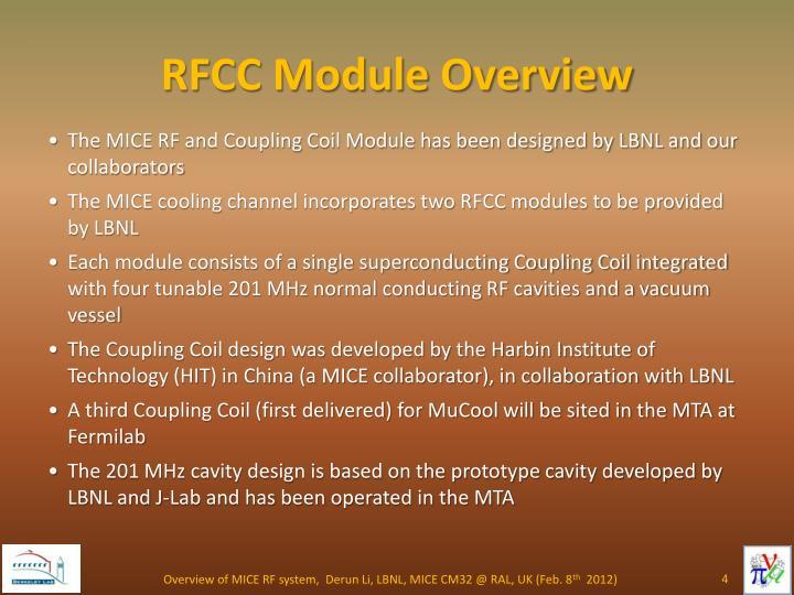 RFCC Module Overview