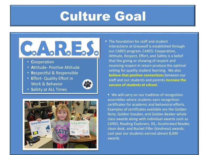 Culture Goal