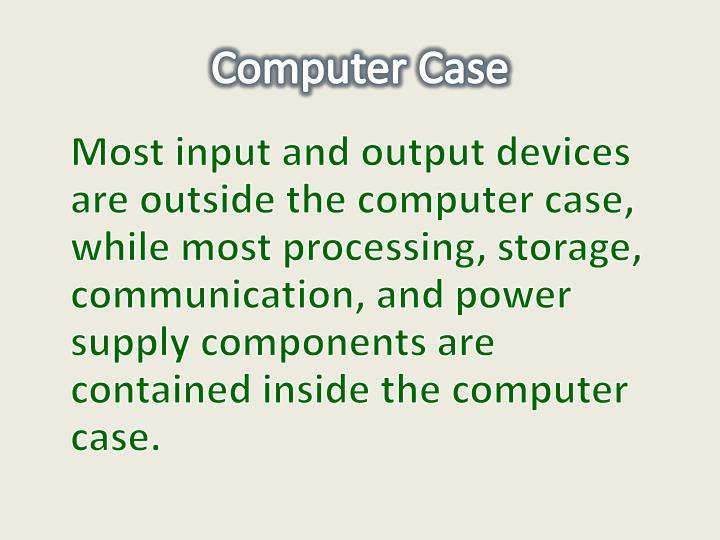 Computer case