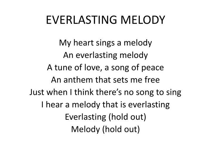 Everlasting melody1