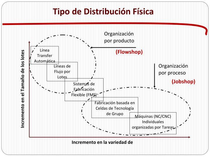 Tipo de Distribución Física