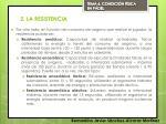 2 la resistencia1