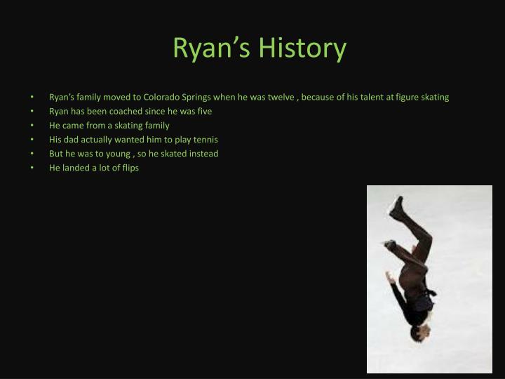 Ryan s history