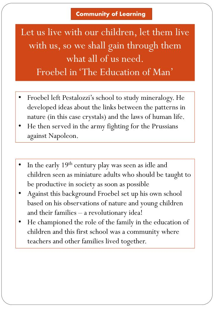 Friedrich froebel