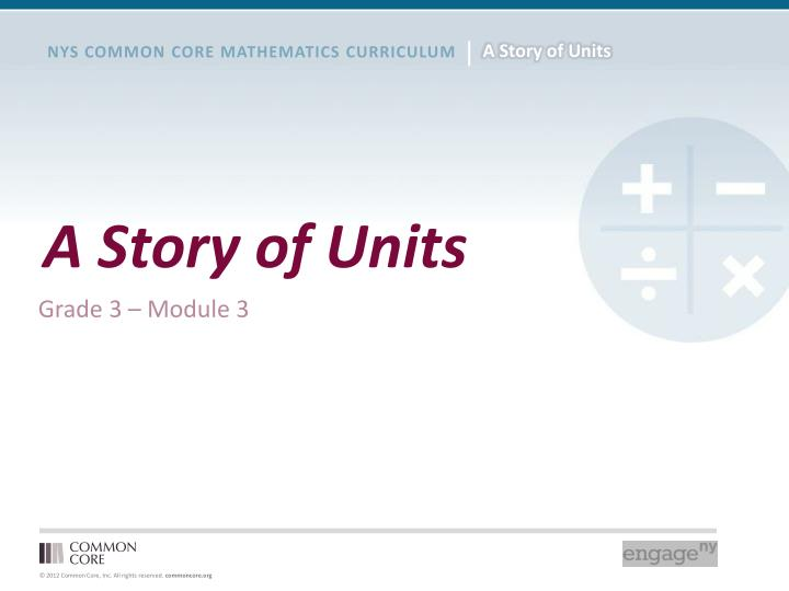 a story of units n.