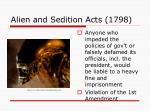 alien and sedition acts 17981
