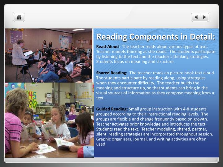 Reading Components in Detail: