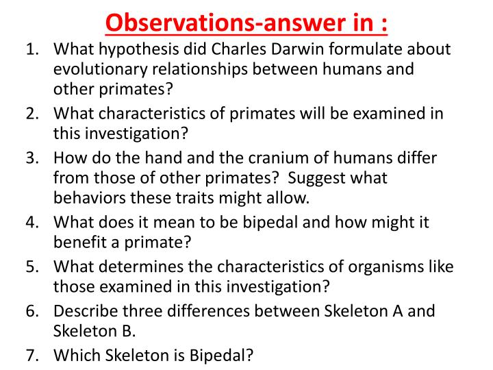 Observations-answer in :