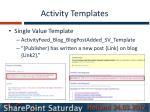 activity templates1