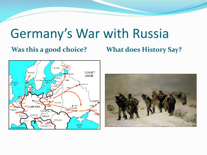 Germany s war with russia