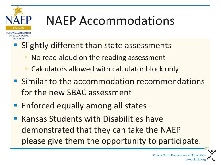 NAEP Accommodations