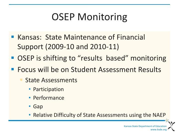 OSEP Monitoring