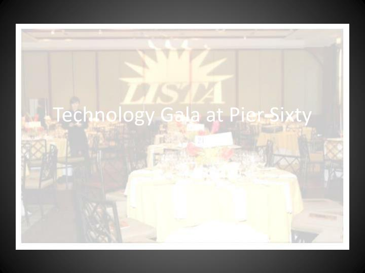 Technology gala at pier sixty