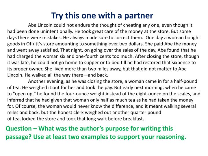 Try this one with a partner