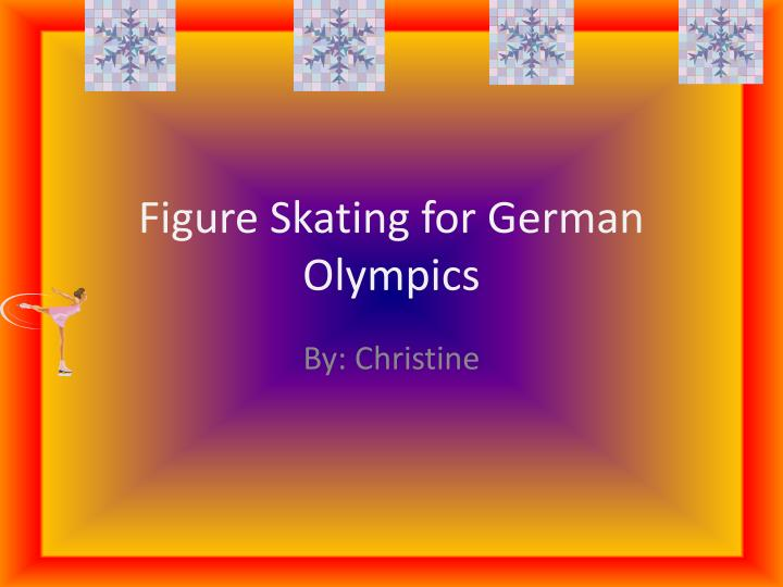 figure skating for german olympics n.