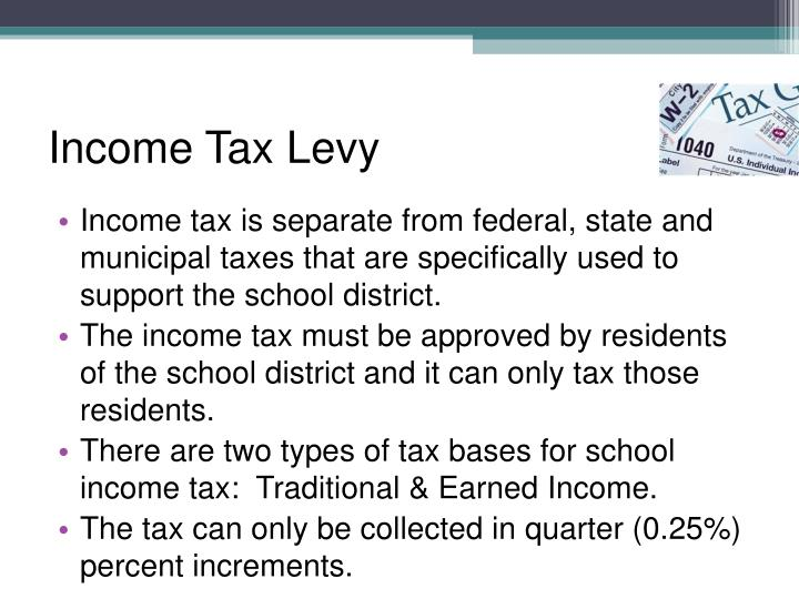Income Tax Levy