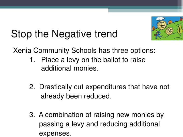 Stop the Negative trend