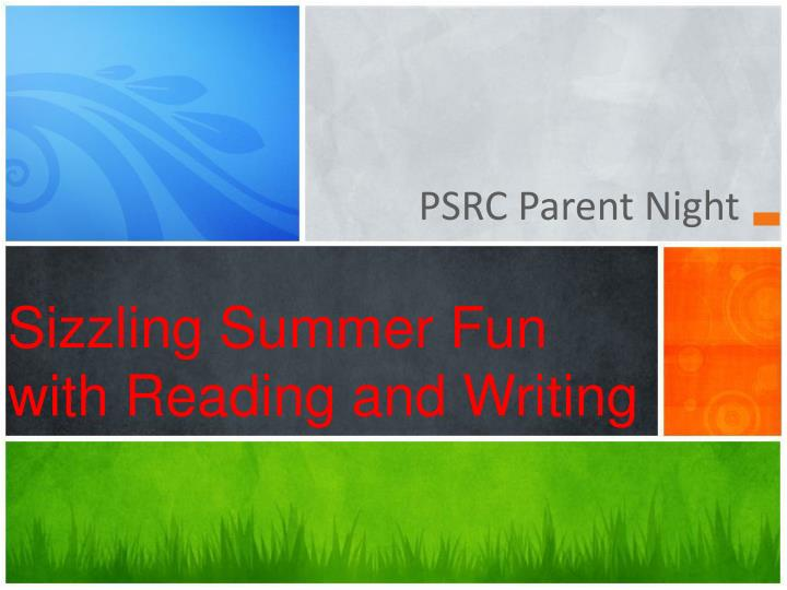 sizzling summer fun with reading and writing n.