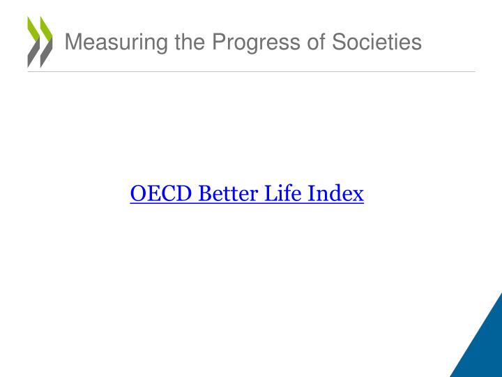Measuring the Progress of Societies