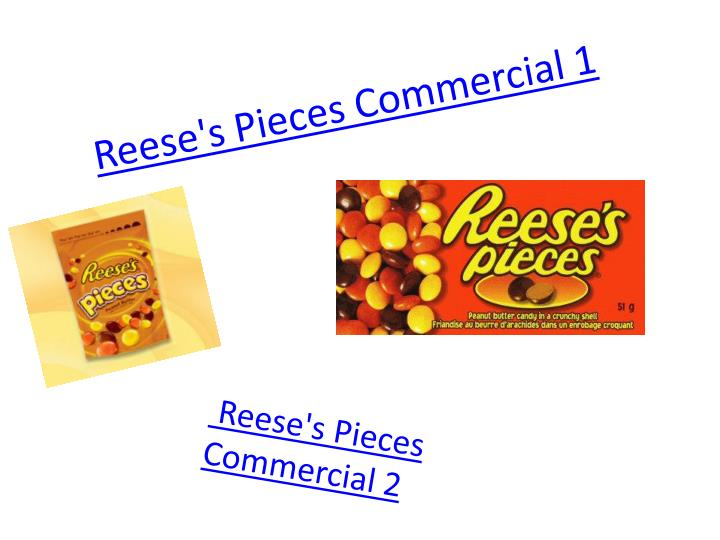 Reese's Pieces Commercial 1