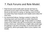 7 pack forums and role model