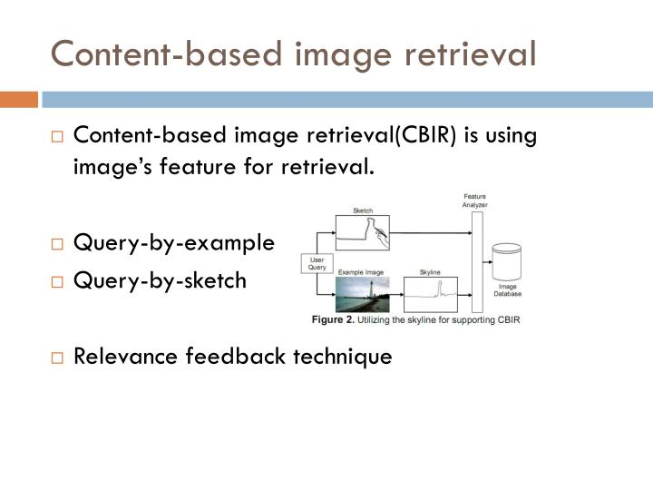 Content-based image