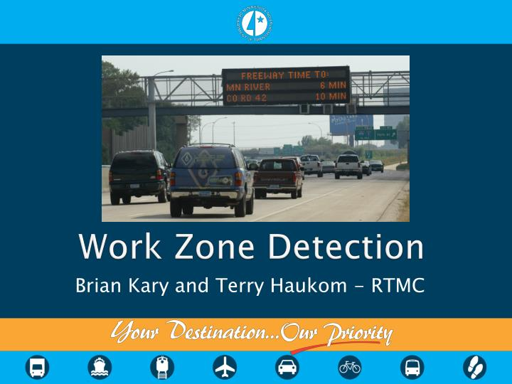 work zone detection n.