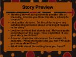 story preview