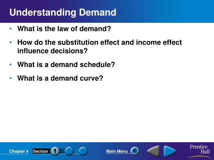understanding demand n.