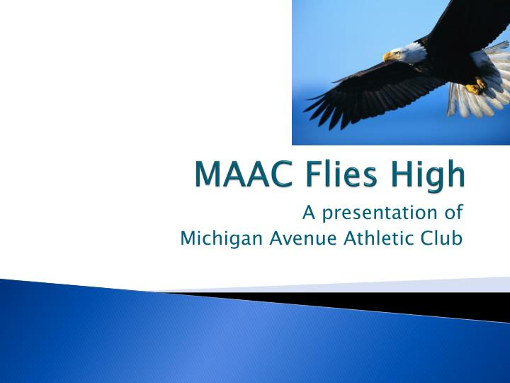 maac flies high n.