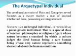 the arquetypal individual