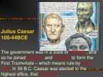 julius caesar 100 44bce