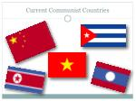 current communist countries