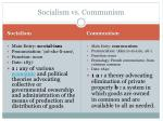 socialism vs communism1