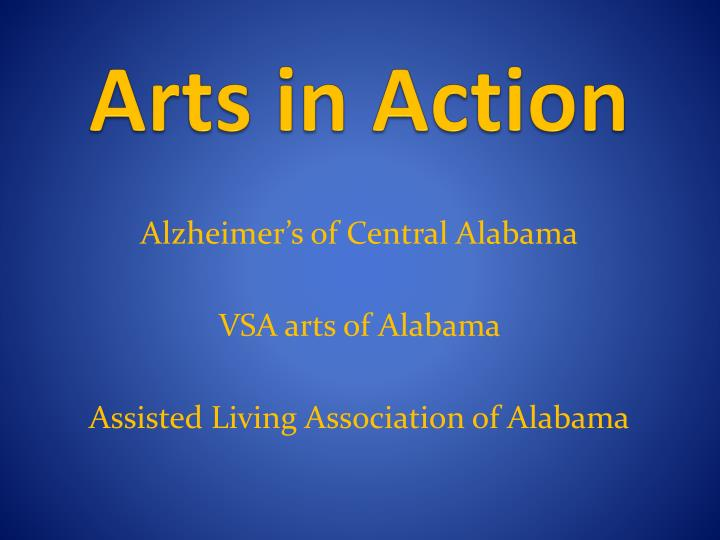 Arts in action