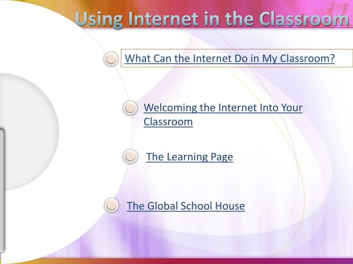 Using Internet in the Classroom