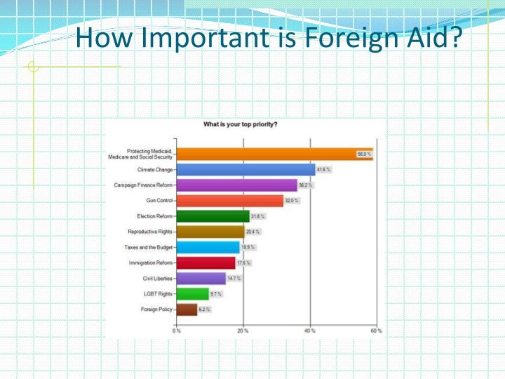 How Important is Foreign Aid?