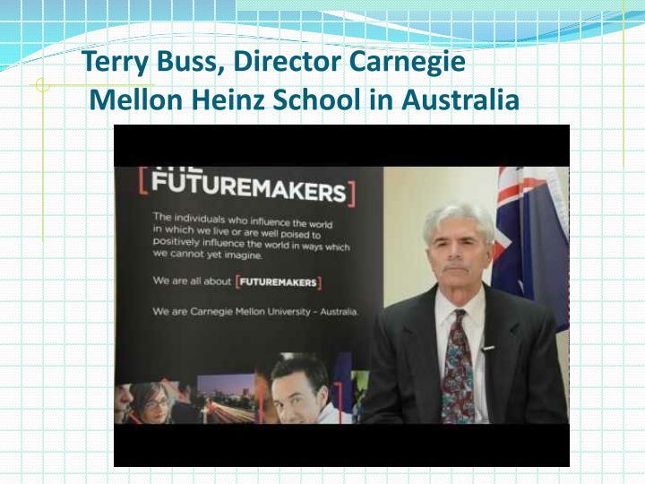 Terry Buss, Director Carnegie