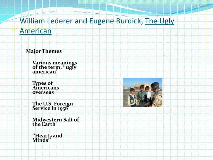 William Lederer and Eugene Burdick,