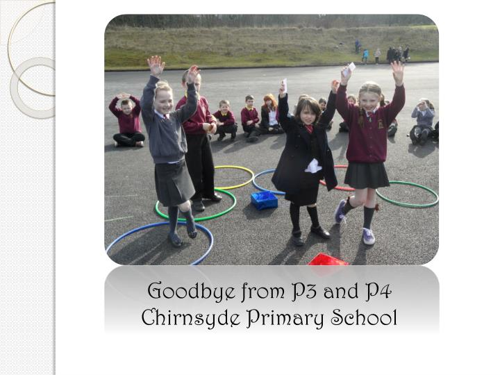 Goodbye from P3 and P4