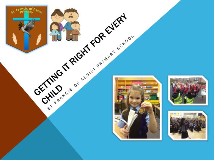 getting it right for every child n.