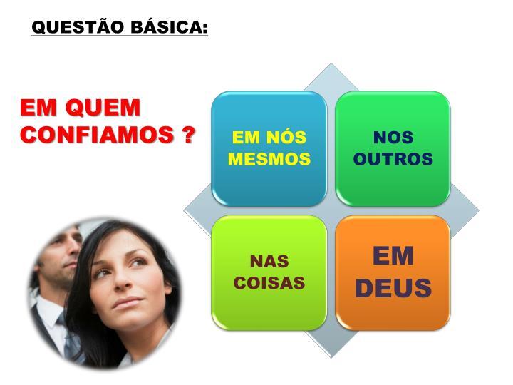 QUESTÃO BÁSICA: