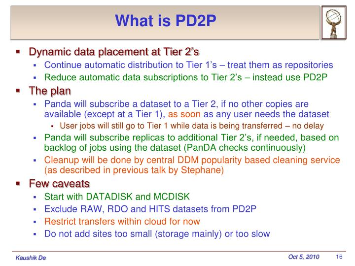 What is PD2P