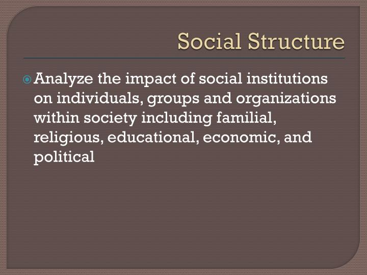Social structure1