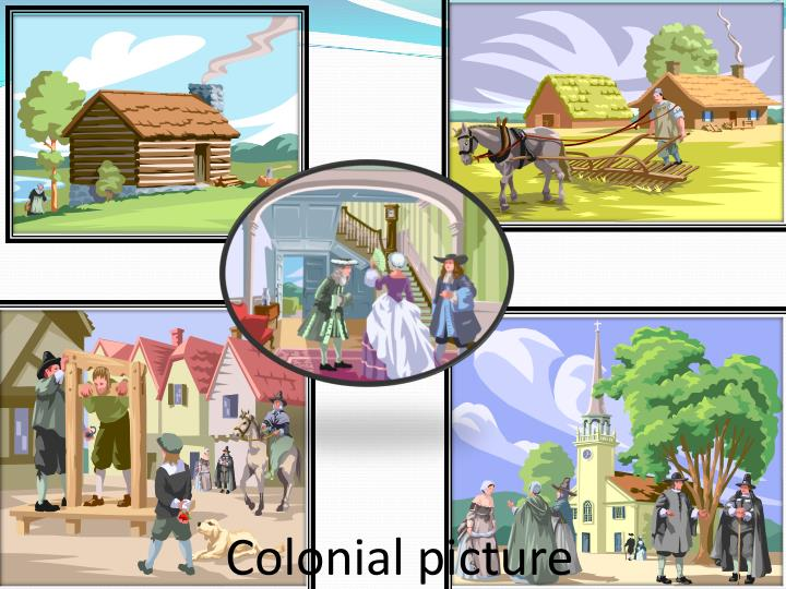 Colonial picture