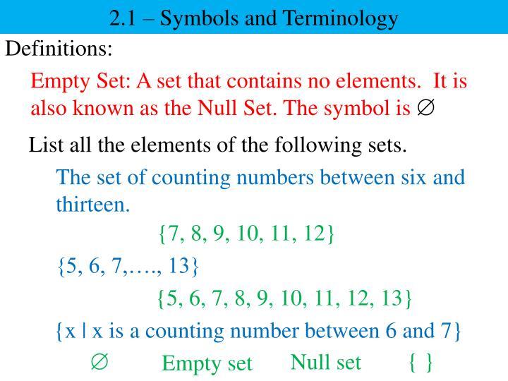 2 1 symbols and terminology1