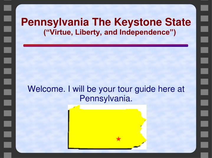 welcome i will be your tour guide here at pennsylvania n.