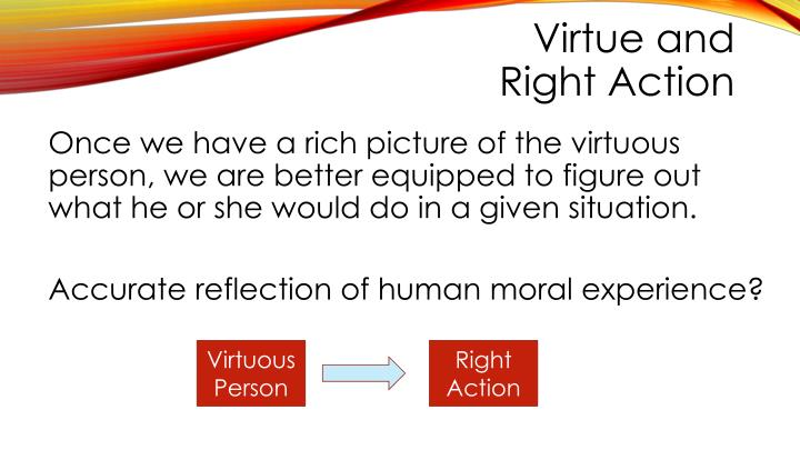 Virtue and