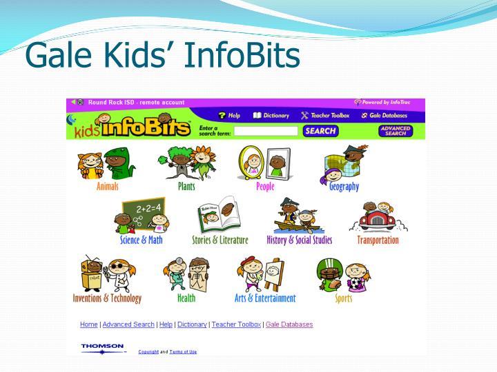 Gale Kids' InfoBits